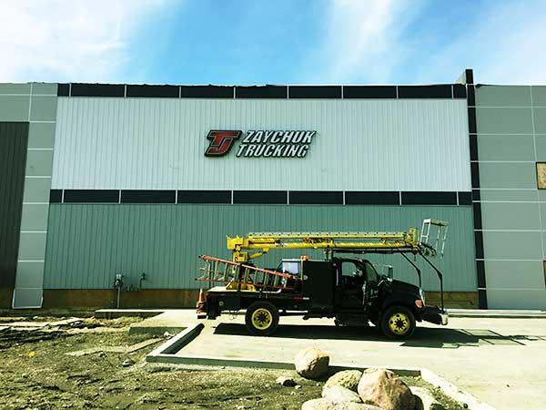 Sign Servicing - Install in Edmonton